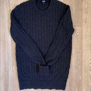 Uniqlo Charcoal Grey Sweater